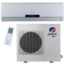 GREE Premium Efficiency 12 000 BTU 1 Ton Ductless Mini Split Air