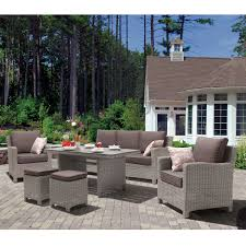 Kettler Outdoor Furniture Covers by Kettler Palma Casual Dining Lounge Set White Wash Notcutts