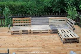 Diy Pallet Garden Furniture Plans Wood Projects