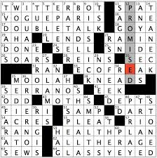 rex parker does the nyt crossword puzzle targets of naphthalene
