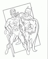 Batman Riddler In The Batfans Coloring Book Pages 3 Comic