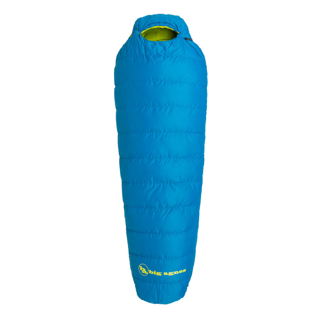 Big Agnes Sandhoffer 20 Sleeping Bag - Blue Regular Right