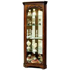 Pulaski Oak Corner Curio Cabinet by Amazon Com Pulaski Corner Curio 27 By 15 By 75 Inch Brown