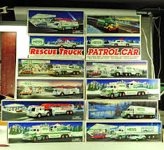 Hess Truck Collection - 12 Veh... Auctions Online | Proxibid The Hess Trucks Back With Its 2018 Mini Collection Njcom Toy Truck Collection With 1966 Tanker 5 Trucks Holiday Rv And Cycle Anniversary Mini Toys Buy 3 Get 1 Free Sale 2017 On Sale Thursday Silivecom Mini Toy Collection Limited Edition Racer 911 Emergency Jackies Store Brand New In Box Surprise Heres An Early Reveal Of One Facebook Hess Truck For Colctibles Paper Shop Fun For Collectors Are Minis Mommies Style Mobile Museum Mama Maven Blog