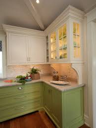Sage Colored Kitchen Cabinets by White Kitchen Cabinets Sage Green Walls Home Design Ideas