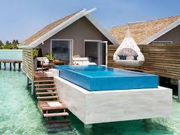 chambre sur pilotis maldives hôtel south ari atoll aux maldives south ari atoll