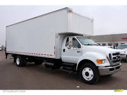 100 Moving Truck For Sale Oxford White 2008 D F750 Super Duty XL Chassis Regular Cab