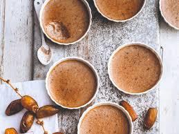 comment faire de la pate de datte recette petites crèmes à la pâte de dattes zéro sucre recette