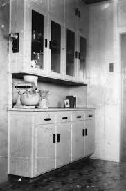 FileStateLibQld 2 142631 Kitchen Cabinets In A Brisbane Home Built The 1940s