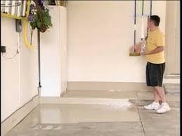 Rust Oleum Epoxyshield Garage Floor Coating Instructions by Epoxy Coat Application Instruction Youtube