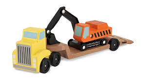 Amazon.com: Melissa & Doug Trailer And Excavator Wooden Vehicle Set ... Melissa Doug Big Truck Building Set Aaa What Animal Rescue Shapesorting Alphabet What 2 Buy 4 Kids And Wooden Safari Carterscom 12759 Mega Racecar Carrier Tractor Fire Indoor Corrugate Cboard Playhouse Food Personalized Miles Kimball Floor Puzzle 24 Piece Beep Cars Trucks Jigsaw Toy Toys For 1224 Month Classic Wood Radar