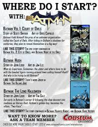 Long Halloween Batman Pdf by Where Do I Start Coliseum Of Comics
