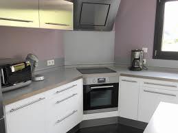 cuisine pascher hotte moderne cuisine inspirational cuisine avec angle pas cher