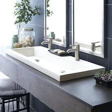 Kohler Overmount Bathroom Sinks by Bathroom Sink Bathroom Sink Drop In Kohler Hexagon Bathroom Sink