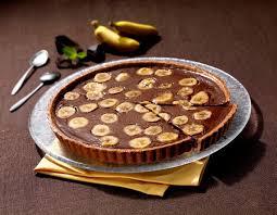 dessert rapide chocolat banane tarte rapide banane et chocolat ma cuisine en