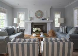GRAY STRIPES IN A SEASIDE COTTAGE