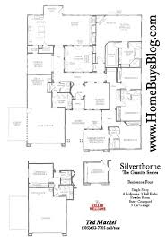 Centex Homes Floor Plans by Silverthorne Tract Simi Valley Floor Plans