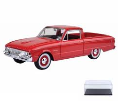 100 Ranchero Truck 1960 Ford Pickup Red Motormax 79321