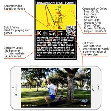 Trx Ceiling Mount Instructions by Amazon Com Suspension Exercise Cards By Stack 52 For Trx Woss