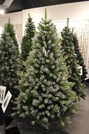 Balsam Christmas Trees Uk by Premier 7ft 210cm Mountain Snow Fir Christmas Tree Amazon Co Uk