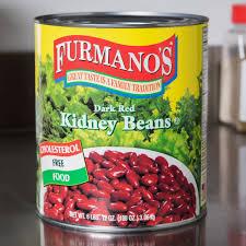 Furmanos Kidney Beans Dark Red