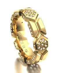 Gold Round Men s Wedding Ring