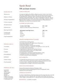 Entry Level Human Resources Resume Lovely Student Examples Graduates Format Templates Builder