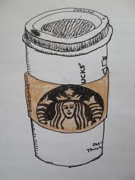 2736x3648 Starbucks Cup Drawing Drawn Coffee