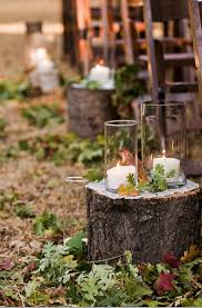 The Wood Rounds Set A Simple Rustic Tone And I Love Candles