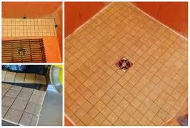 Grouting Floor Tiles Tips by Using Bostik Urethane Grout In Tiled Showers It U0027s Not Just For