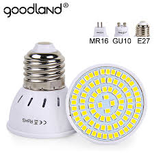 goodland e27 led l 220v 240v mr16 gu10 led bulb led spotlight