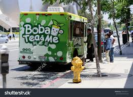 LOS ANGELES October 16 2017 Boba Stock Photo (Edit Now) 736174771 ... Millennials Love Food Trucks But Stale Laws Are Driving Them Out Of Best Places To Eat In Los Angeles Taco Restaurant Guide Gourmet Truck Locations Today Connector Best Food Trucks Los Angeles Archives My Delight Cupcakery Truck In Kelanarasa On Twitter Street Food Map Of Cousins Maine Lobster California Ca La Dtown Business District Street