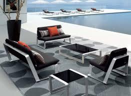 canapé de jardin design table de jardin design pas cher marque salon de jardin reference
