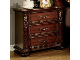 Arthur Brown Cherry NightStand Muuduu Furniture Outlet Price