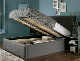 Super King Size Ottoman Bed by Buy Elise King Bed With 2 Storage Drawers Classic Velvet French