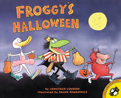 Halloween Books For Preschoolers Online by Froggy U0027s Halloween Jonathan London Frank Remkiewicz