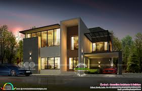 104 Modern Architectural Home Designs 4 Bhk Ultra Contemporary Plan Kerala Design And Floor Plans 8000 Houses