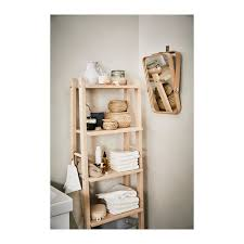 ash ikea ikornnes mirror table shelf unit shelves ikea