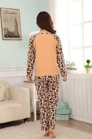 aliexpress com buy leopard fire fox pajamas sets for women