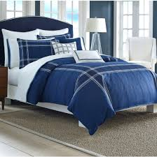 Navy And White Striped Curtains Canada by Royal Blue Comforter Set King Size And Brown Full Sets Yellow