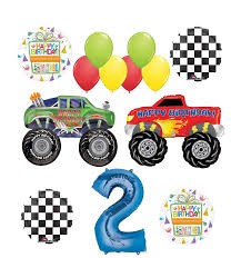 100 Monster Truck Birthday Party Supplies Amazoncom Mayflower Products 2nd