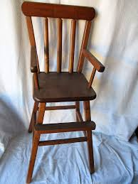 Amazon.com: Vintage Brown Wooden Doll High Chair 26.5