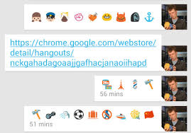 Google Hangouts solves the iPhone Android emoji problem