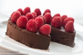 Chocolove Flourless Chocolate Cake with Raspberry Coulis