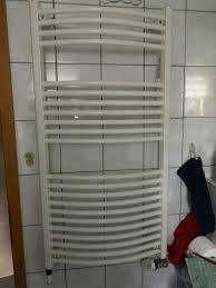 heizung badezimmer gebogen