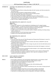 HR Administrative Assistant Resume Samples | Velvet Jobs Administrative Assistant Resume Example Templates At Freerative Template Luxury Fresh Executive Assistant Resume 650858 Examples With 10 Examples Administrative Samples 7 8 Admin Maizchicago Proposal Sample Professional Hr Medical Support Best Grants Livecareer Unique New Office Full Guide 12 Objective Elegant