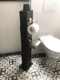 toilettenpapierhalter aus holz unikat