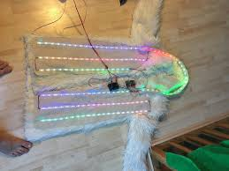 smart led faux fur coat 6 steps with pictures