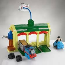 Trackmaster Tidmouth Sheds Youtube by Buy Thomas U0026 Friends Discover Thomas Tidmouth Sheds Playset From
