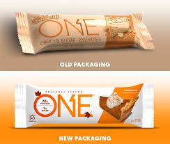The New Packaging Is Clean And Modern For Callouts It Focuses Primarily On Bars 20 Grams Of Protein One Gram Sugar Dessert Inspired Flavors
